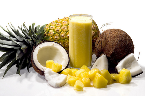 Pina Colada Smoothie - The Girls on Bloor